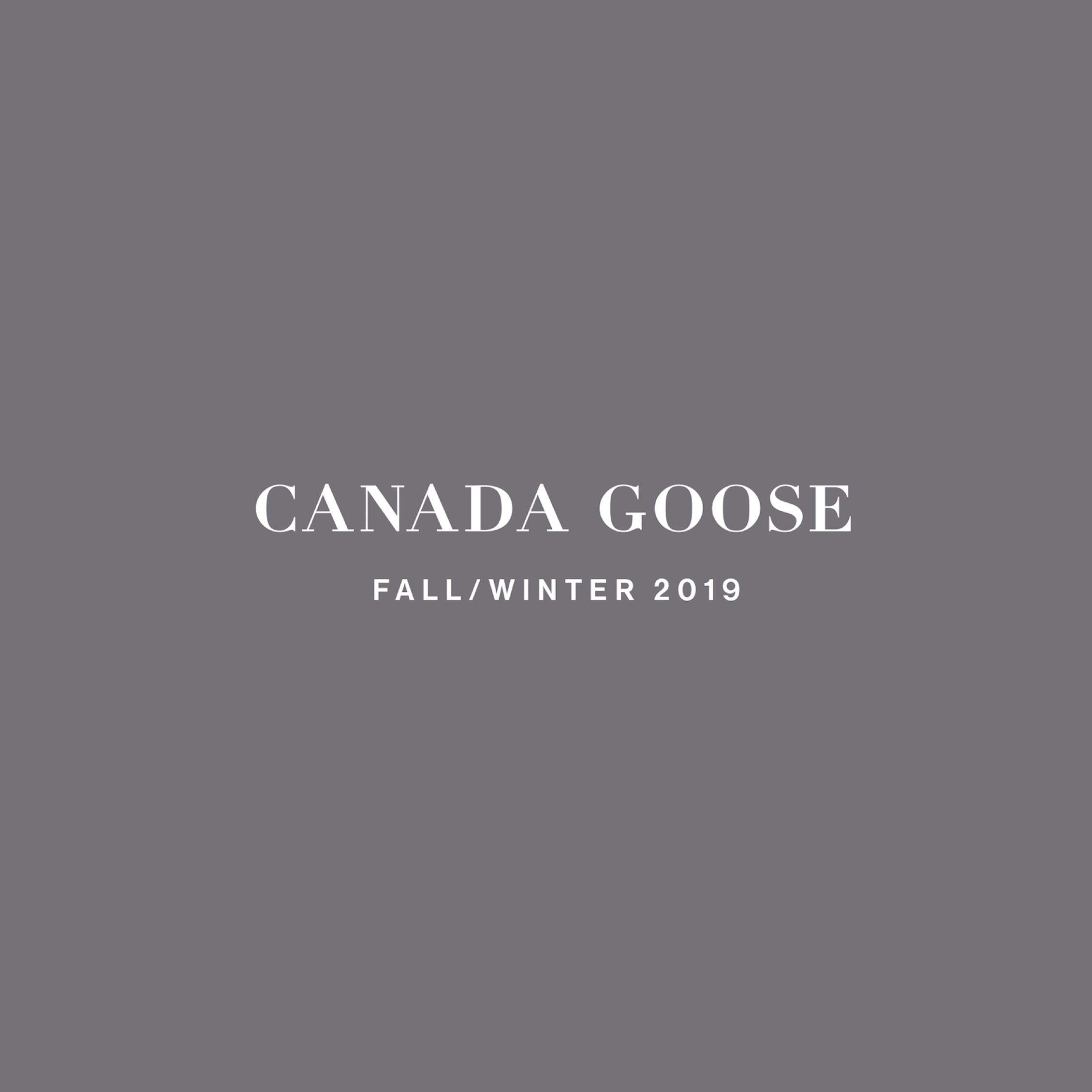 CANADA GOOSE 2019 FW NEW COLLECTION