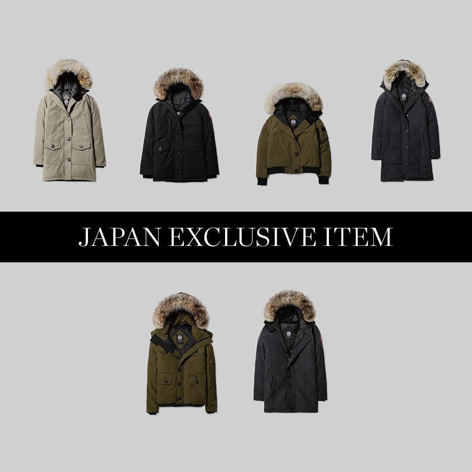 2018FALL/WINTER</br>CANADA GOOSE</br>日本限定モデル販売方法について