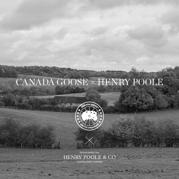 CANADAGOOSE × HENRY POOLE